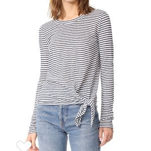Madewell Stripped Soundcheck Tie Tee